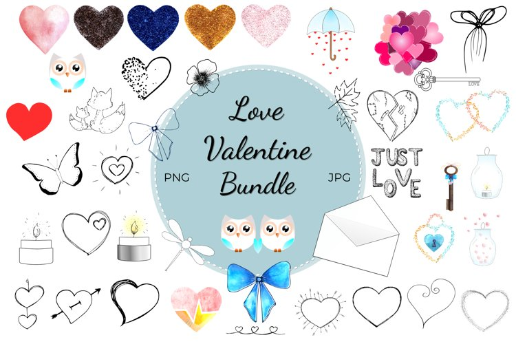 Valentine Clipart Collection