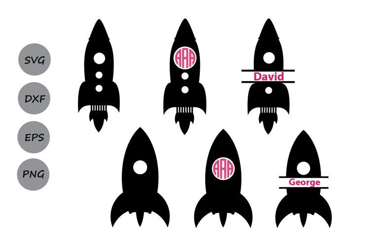 Rocket svg, rocket monogram frames, rocket clipart, rocket.