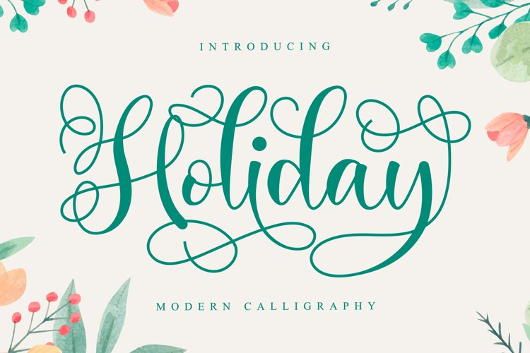 Holiday Script example image 1
