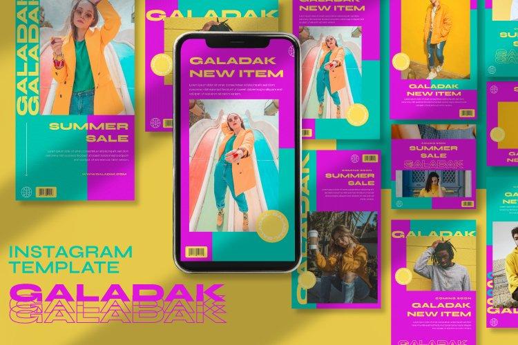 Galadak Instagram Template example image 1