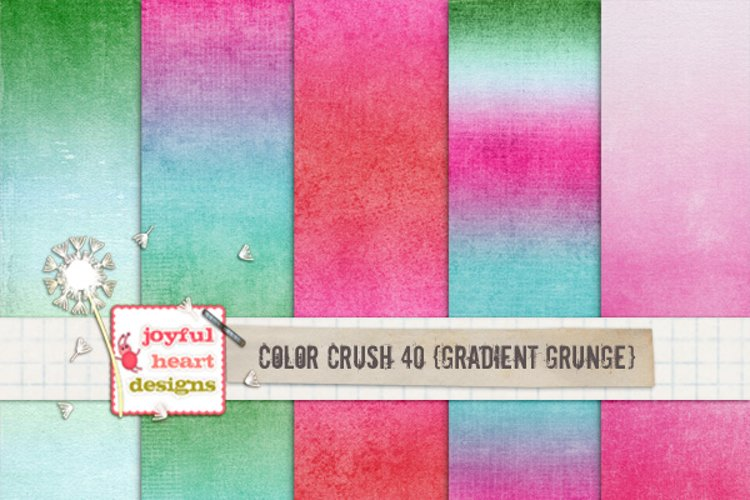 Color Crush 40 {gradient grunge} example image 1