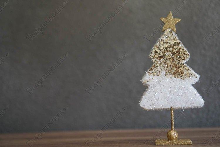 Stock Photo - Styrofoam Christmas Tree example image 1