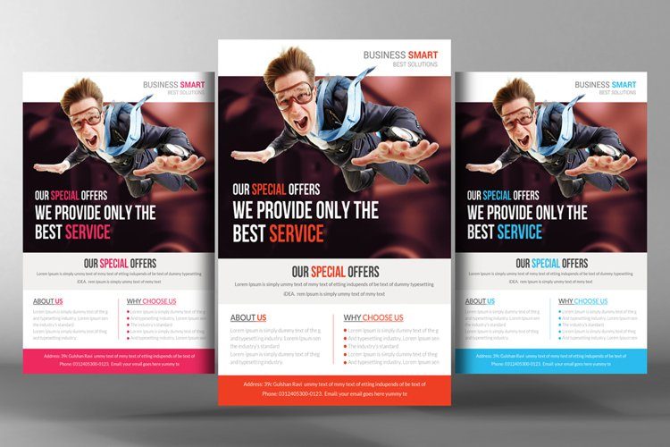 Corporate Flyer Templates example image 1