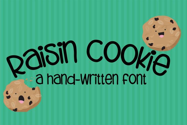 ZP Raisin Cookie example image 1