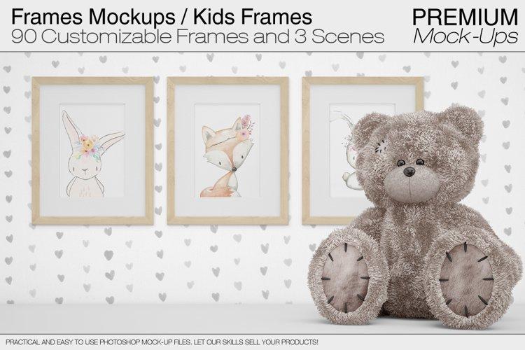 Frames Mockups - Nursery Frames example image 1