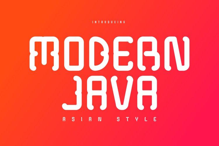 Modern Java example image 1