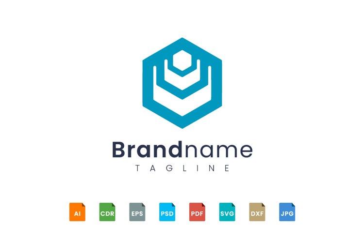 Hexagon logo Design creation example image 1