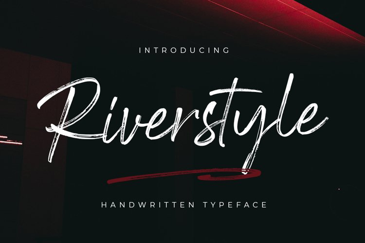 Riverstyle Font example image 1