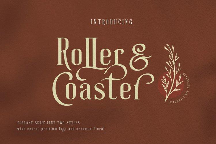 Roller Coaster Elegant Serif Extra