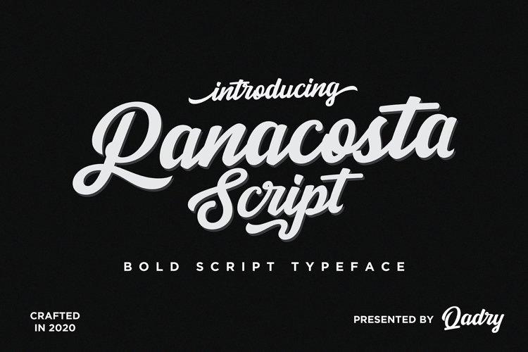 Panacosta Script example image 1