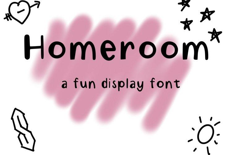 Homeroom example image 1