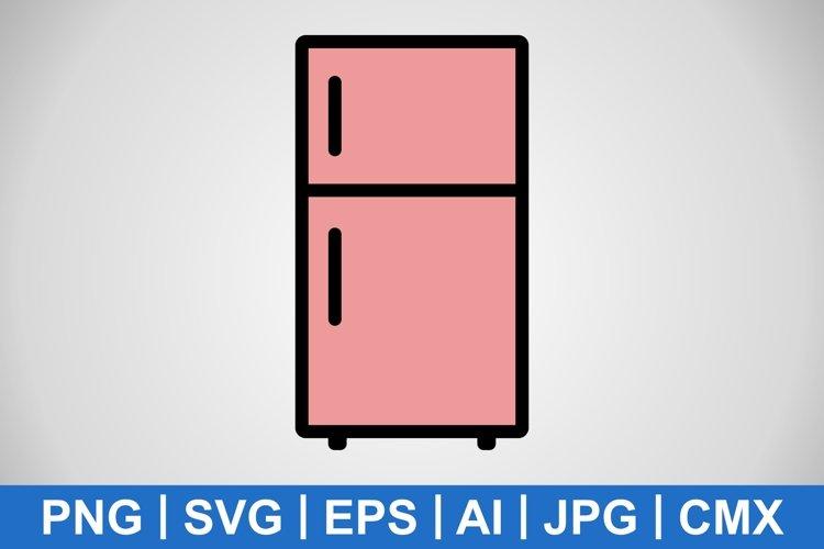 Vector Fridge Icon example image 1