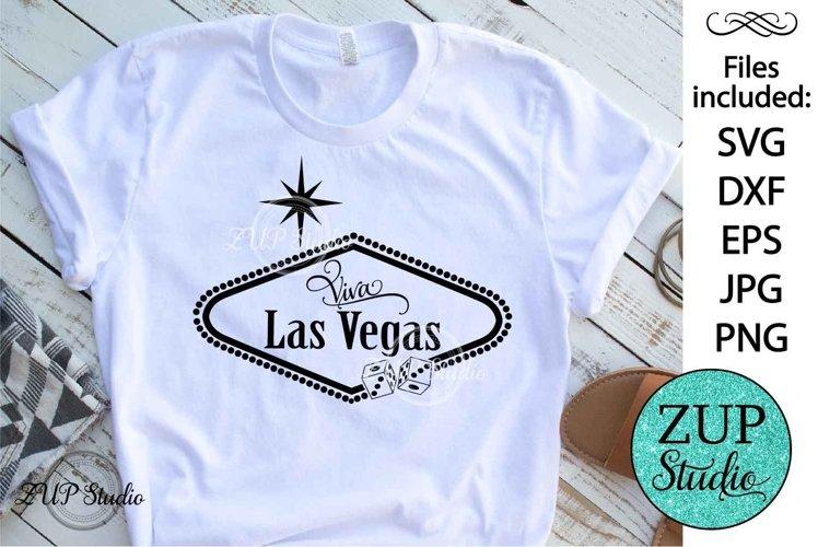Las Vegas Sign SVG Design Cutting File 184