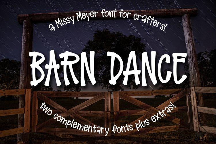 Barn Dance - a homey little font!