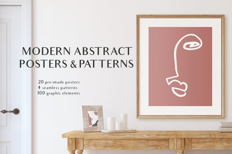Modern Posters & patterns example image 1