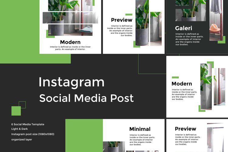 Minimalist Social Media Template vol 4 example image 1