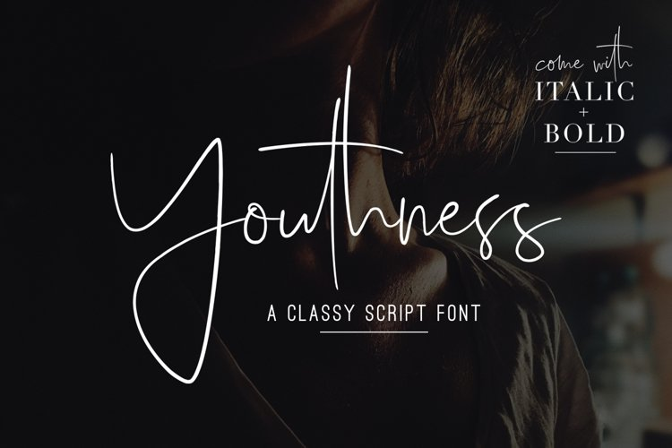 Youthness Family - Modern Script example image 1