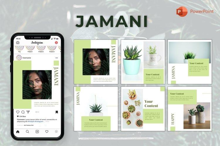 Instagram Feed Template - Jamani