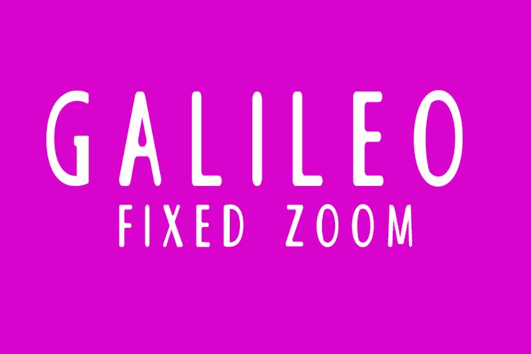 Galileo Fixed Zoom example image 1