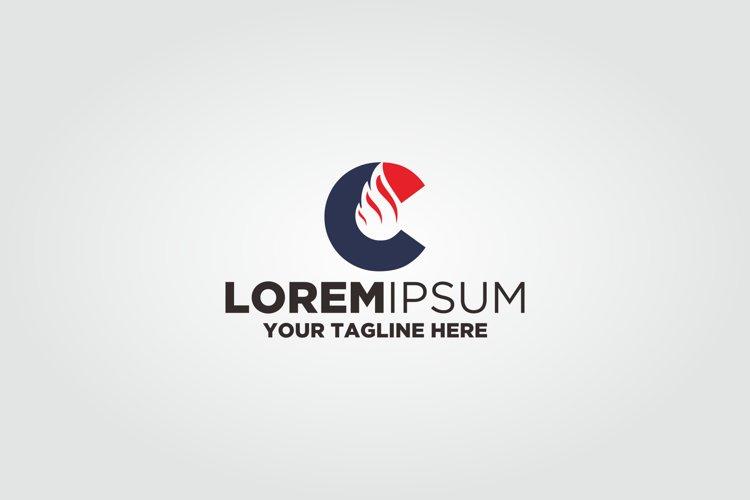 Letter C Oil Logo example image 1