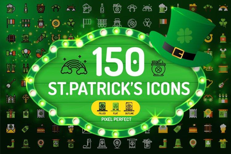 St.Patricks Day Icons
