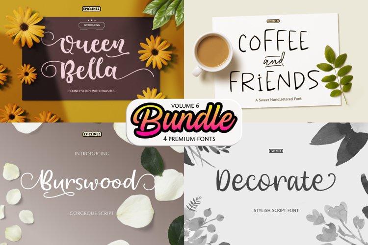 Epic Bundle Vol 6 | 4 Premium Fonts example image 1