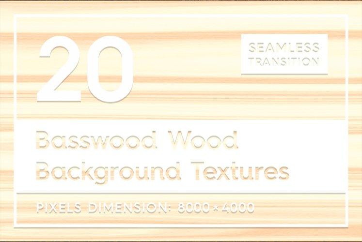 20 Basswood Wood Background Textures example image 1
