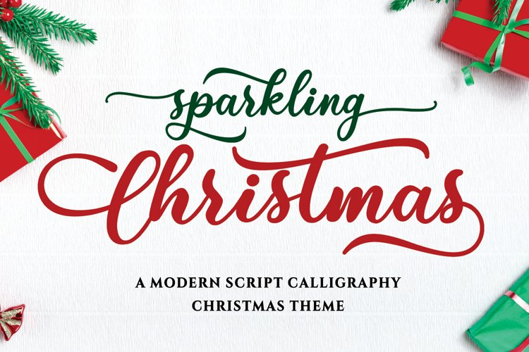 Sparkling Christmas example image 1