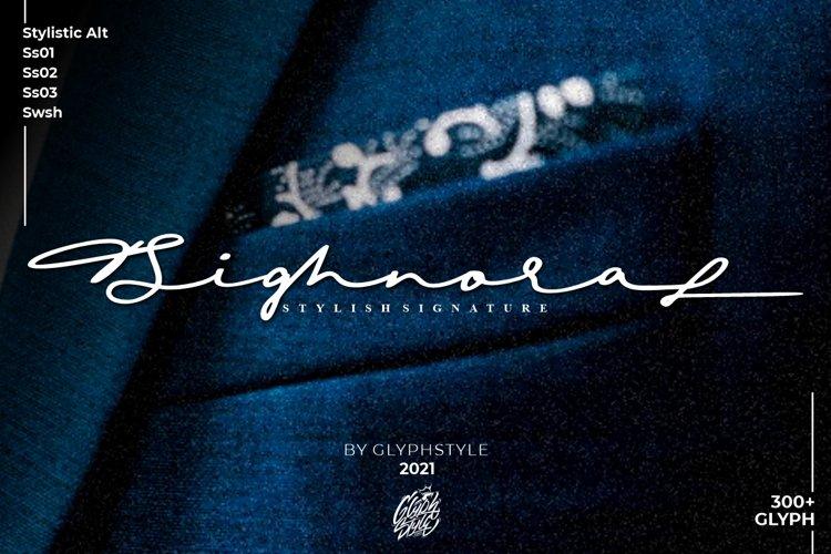 Sighnora Stylish Signature example image 1
