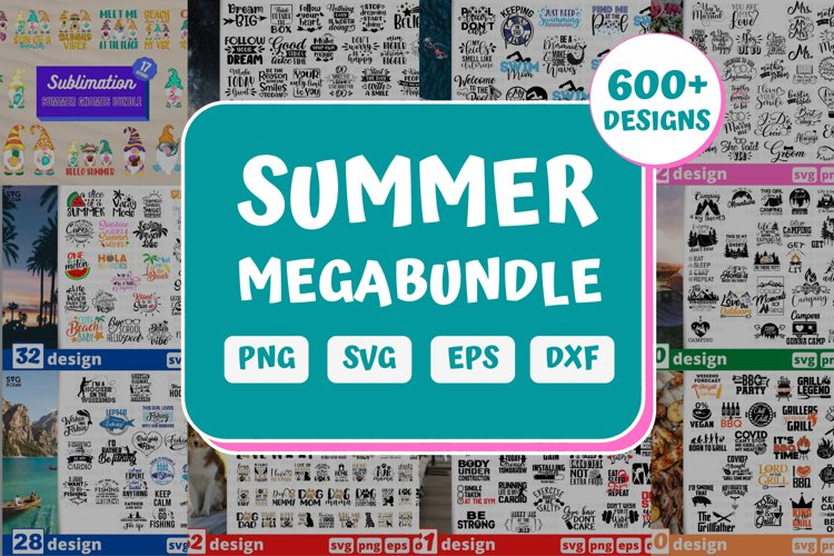 Summer SVG Bundle | Beach Megabundle