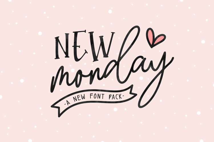New Monday | Font Pack