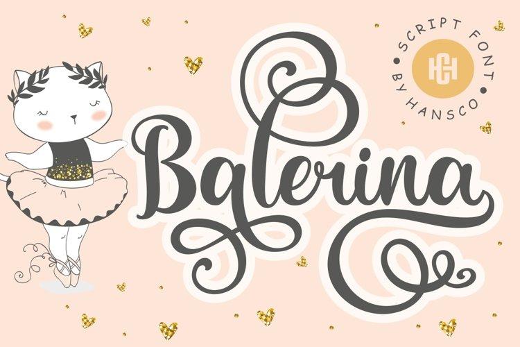Balerina example image 1