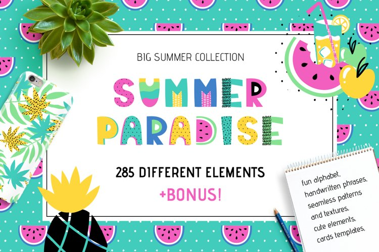 Summer Paradise - Big Collection example image 1