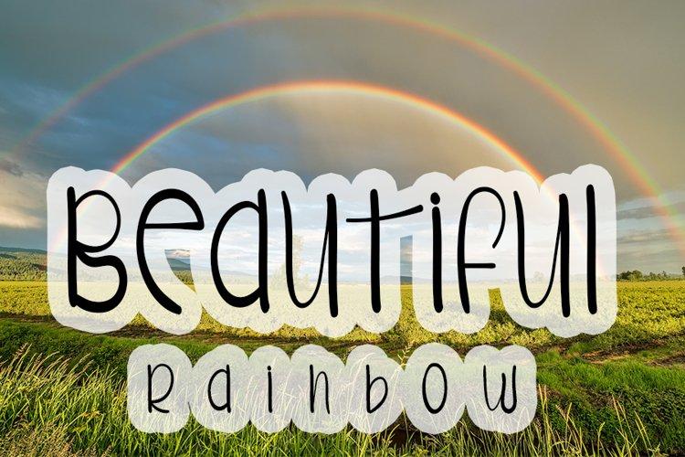Beautiful Rainbow example image 1