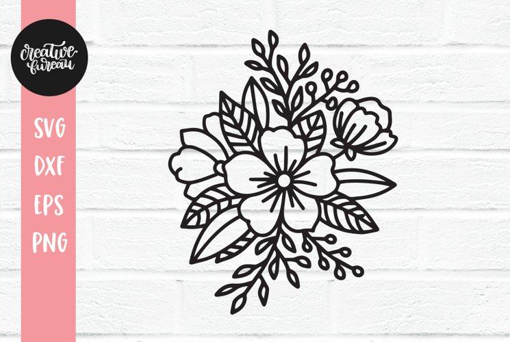 Floral corner svgPage corner svgFloral page corner