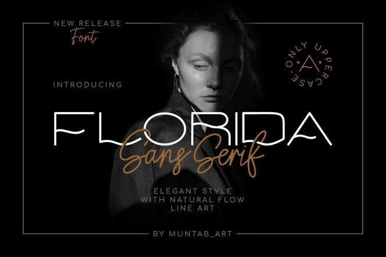 Florida | Elegant Sans example image 1