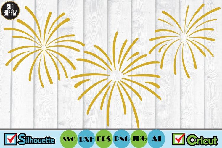 Fireworks SVG Cut File
