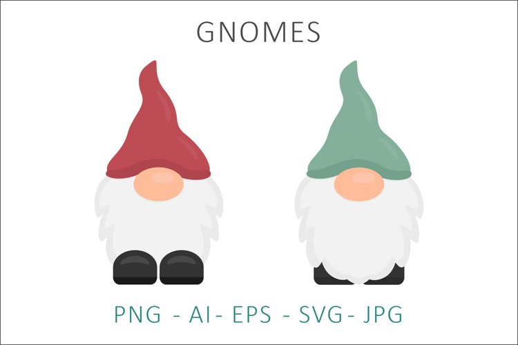 Gnome Vector Illustration SVG