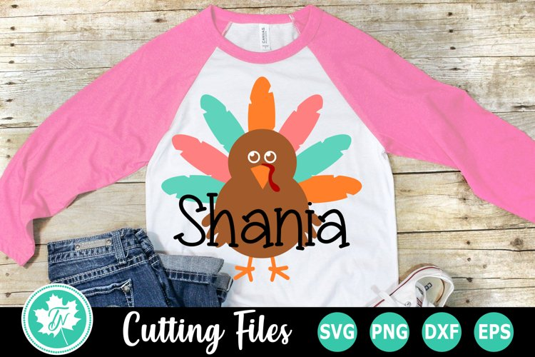 Turkey - A Thanksgiving SVG Cut File example image 1