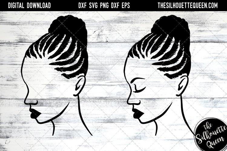 Afro Hair - Braided Bun example image 1