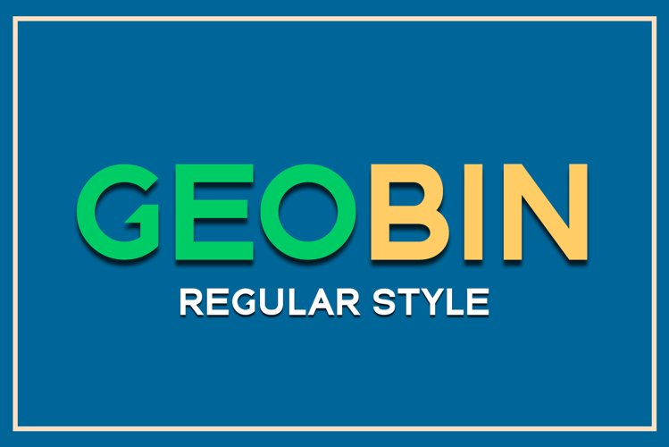 GEO BIN Regular example image 1