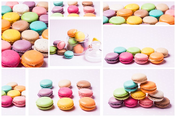 Macaroons photos Pack
