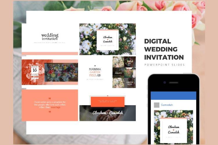 Digital Instagram Wedding Invitation Template