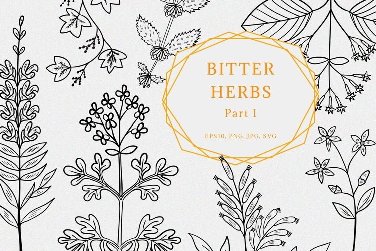 Bitter herbs part 1
