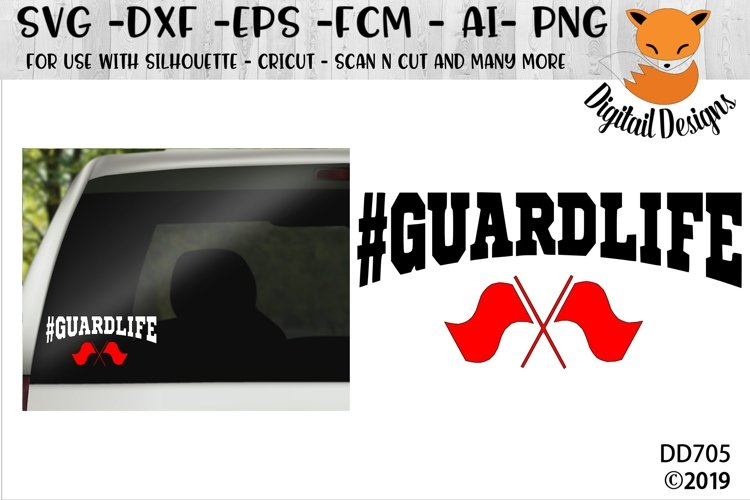 Color Guard - Guard Life SVG example image 1