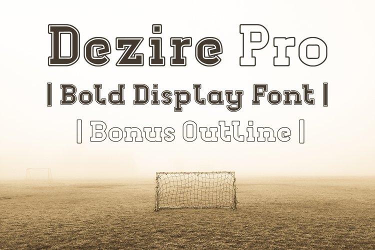 Dezire Pro example image 1