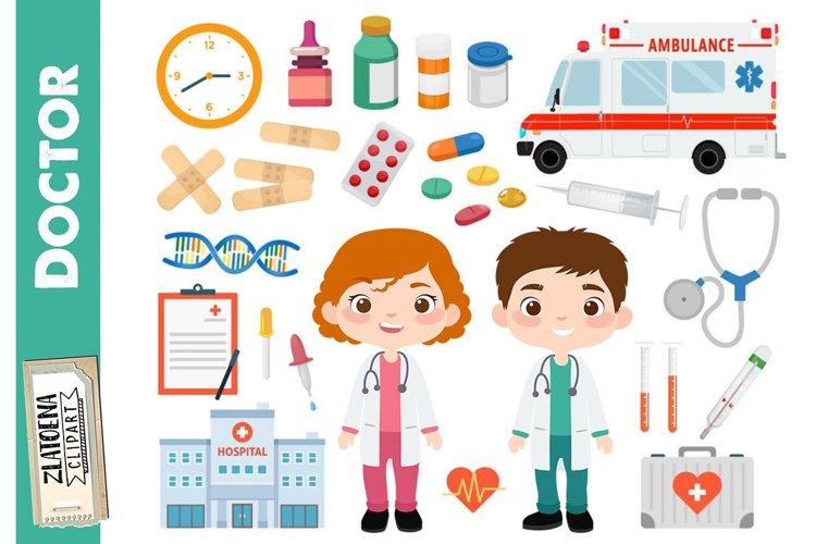 Doctor Clipart Medical Digital Clip Art Medicine Digital
