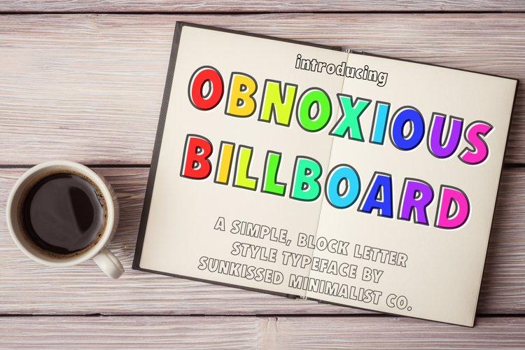 Obnoxious Billboard example image 1