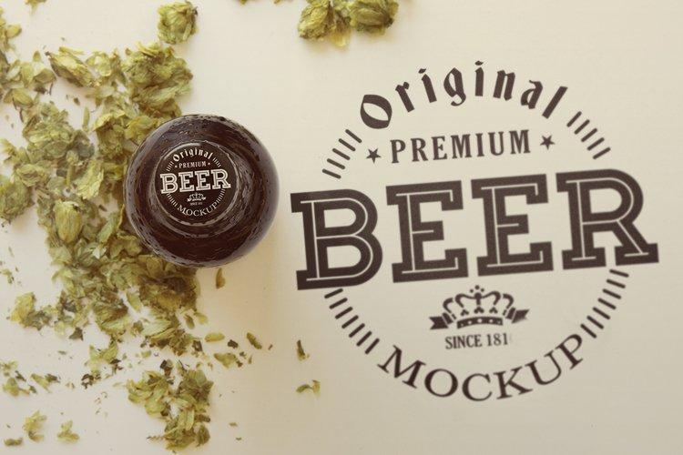 Dry Hop Beer Cap | Logo Mockup example image 1