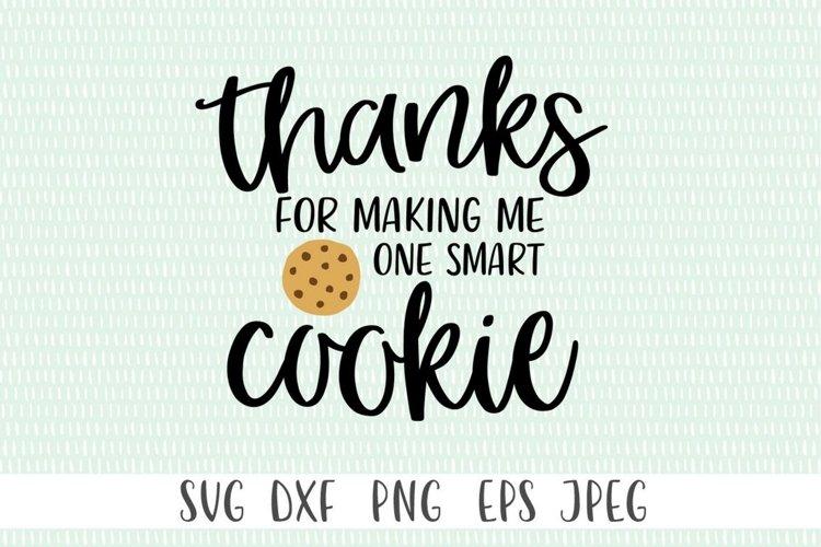 One Smart Cookie svg | Teacher svg | Teacher Gift svg example 2